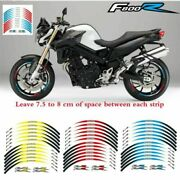 For Bmw F800r 2009-2018 Stickers Stereo Pasters Rim Stripes Wheel Decals Tape