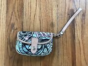 Dooney And Bourke Disney Parks Cruise Line Fantasy Flap Wristlet Discontinued