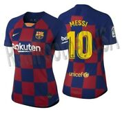 Nike Lionel Messi Fc Barcelona Womenand039s Home Jersey 2019/20
