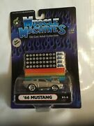 Limited Race Version Muscle Machines Hot Rod164 66 Mustang