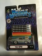 Limited Race Version Muscle Machines Hot Rod164 66 Gto