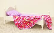Laurent Doll 18 Inch Doll Single Bed White Victorian For American Girl Furniture
