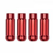 Blox 12p17 Red Steel Tuner Style Extended Lug Nuts 12x1.5mm Open Ended 20pcs