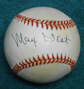 Max West Signed National League Coleman Ball - Psa/dna Authenticated