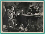 Gert Frobe And Wolfgang Preiss In The 1000 Eyes Of Dr. Mabuse - Original Photo