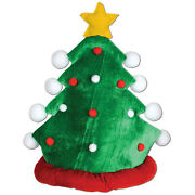 The Beistle Company Plush Christmas Tree Hat Pack Of 12
