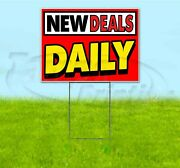 New Deals Daily 18x24 Yard Sign With Stake Corrugated Bandit Usa Business Sales