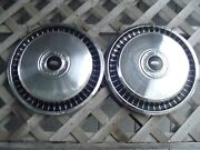 Two 71 72 73 74 75 76 77 Ford Pickup Truck Hubcaps Wheel Covers Vintage Antique