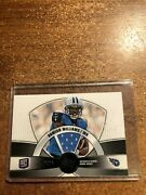 2010 Topps Prime Football Prr-dw Damian Williams Jersey Card Rc 272/420