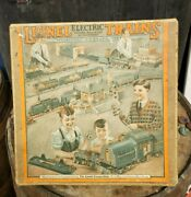 Antique Lionel Trains Box Only For Outfit 131 O Guage Track Toy Train Railroad