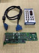 National Instruments Pci-6115 Ni Daq Card Extended Memory W/ Bnc-2110 And Cable