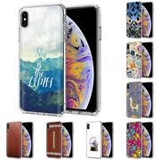 Thin Gel Design Protective Phone Case Cover For Apple Iphone Xs Maxsky Print