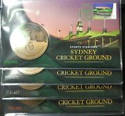 2019 Sydney Stamp And Coin Expo Set Of 4 Days Sydney Cricket Ground Pnc/medallion