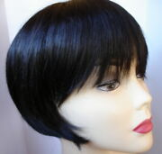Rene Of Paris Audrey Wig Smooth Layered Bob Angled Sides Made In Japan Expresso