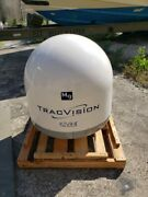 Kvh Tracvision M9 Empty Dummy Dome/baseplate Kvh 01-0258-02 New Condition