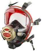 Ocean Reef Iron Full Face Mask W/sl35 1st Stage 2nd Stage And Qd Hose