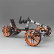Diy Creative Constructible Rides 10-in-1 Electric Kids Bicycle، Multi-mode Frame