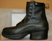 Z-coil Prime Ct Fw-k6001 Menand039s Black Leather Size 9 Safety Toe Ds