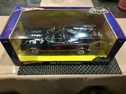 The Rare Signatured Batmobile-signed By West Ward And Creator Barris