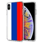 Thin Gel Phone Case Apple Iphone Xs Max,russia Country Climate Nationality Print