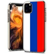 Thin Gel Phone Case Apple Iphone 11 Pro,russia Country Climate Nationality Print