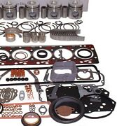 Fits Nissan K21 Lift Truck Engine Kit Forklift Pistons Rings Gaskets W/sleeves