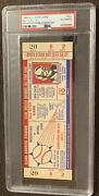 Full Psa 1956 All Star Ticket Hr Willie Mays Mickey Mantle Musial Ted Williams