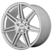 American Racing Ar935 Redline 20x8.5 5x120 Offset 25 Brushed Silver Qty Of 4