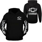Chevy Hoodie Chevrolets Hooded Sweatshirt Front And Back S - 3xl