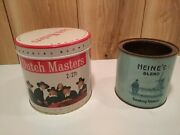 Vintage Tobacco Tins Dutch Masters Cigar And Heineand039s Blend Smoking By Sutcliff Co.