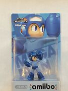 Nintendo - Mega Man Amiibo - Super Smash Bros - 1st Edition Us Print - Brand New