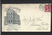 Sioux City Iowa 1892220 Illust Advt Cover. F.bardes And Co. Harnessandsaddlery