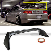 Fit 02-06 Acura Rsx Dc5 Glossy Black Painted Jdm Tr Type-r Rear Trunk Spoiler