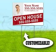 For Sale Custom Realtor 18x24 Yard Sign With Stake Corrugated Bandit Real Estate