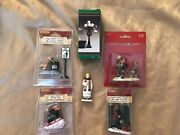 Lemax Christmas Village Figurines Christmas Village Accessories Lot Of 6