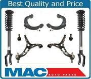 Front Complete Struts Lower And Upper Control Arms W Bj For 11-15 Grand Cherokee