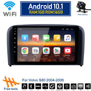 Android 10.1 Car Dvd Player Gps Navi Radio Stereo Wifi For Volvo S80 2004-2006