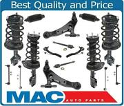 Front And Rear Struts Control Arms Tie Rods Links 18pcs For Toyota Camry 3.5l