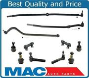 For 00-02 4 Wheel Drive Ram 2500 Pick Up Tie Rods Drag Links Ball Joints 11pc