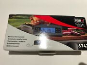 Weber Style Barbecue Thermometer New In Box