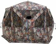 Large Hunting Blind Fits 4 People Bow Hunter Cover Tent Deer Buck Game 5 Sides
