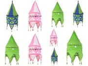 12 Pc Wholesale Lot 2 Step Indian Embroidered Garden Lampshade Room Ceiling Art