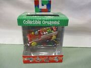 Fisher Price Toys Collectible Ornament Winky Blinky Fire Engine Truck Vintage