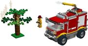 Used Lego Set 4208 4x4 Fire Truck With Instructions Free Shipping