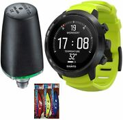 Suunto D5 Hoseless Wrist/watch Computer And Tank Pod W/usb Downloader - All Colors