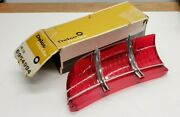5954994 Nos Gm 1964-1965 Oldsmobile F85 Station Wagon Rh Stop Tail Lamp Lens 65