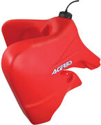 Acerbis 6.6 Gallon Red Oversized Fuel Gas Tank For Honda Crf 450 X 05-07