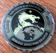 Usaf Air Force Wright-patterson Special Military Intelligence Coin. Aliensandnbsp
