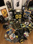 Ultimate Batman Box Collectibles Huge Lot New Custom And Pre-owned Free Shipping