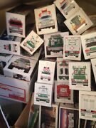 Collectable Hess Trucks And Gas Trucks.  There Are 63 Total From 1982-2007
